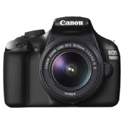 Canon EOS 1100D IS (Kit 18-55 mm IS) (Black)