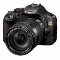 Canon EOS 550D SLR (Black) with Kit II